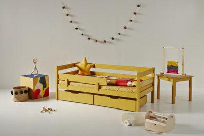 Hoppekids Ida Marie junior bed 70x160 grenen Autumn yellow