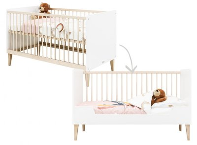 BEDBANK 70X140 INDY WHITE/NATURAL