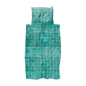 Tiles emerald green