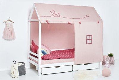 Hoppekids Basic huis bed 90x200 wit