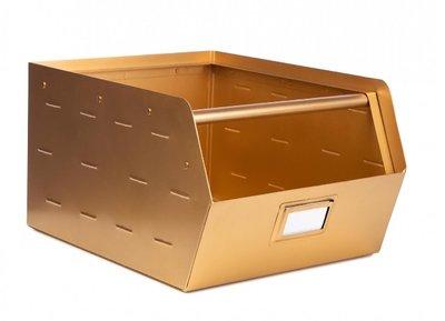 opbergbak goud