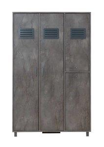 iron 4 deurs kast