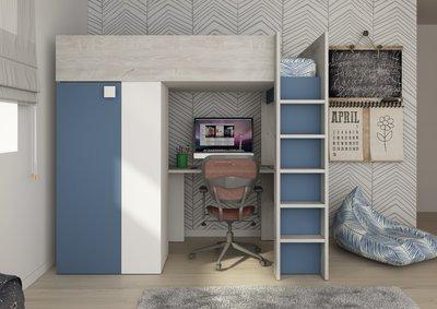 studio hoogslaper smokey blue