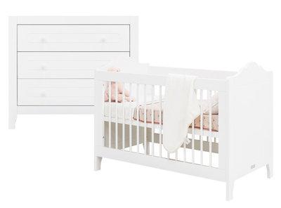 bopita 2-delige babykamer evi