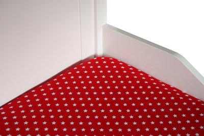 bink 70x150 hoesalekn rood little star