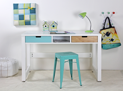 Bopita select your own desk bureau op maat wit kinderbeddenstore for Bureau 60x120