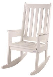 happy abby noordzee schommelstoel wit