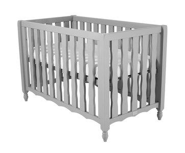 Baby Ledikant Maat.Coming Kids Pebbles Baby Ledikant 60x120 Grijs Kinderbeddenstore