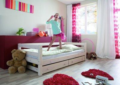 infanskids bed thijs met lade wit