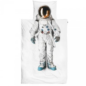 astronauten dekbed snurk