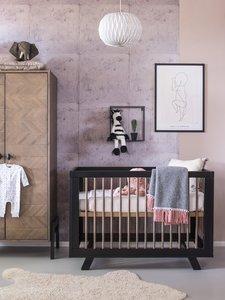 Babybed Met Kast.Coming Kids Harper Ledikant 60x120 Massief Hout Kinderbeddenstore