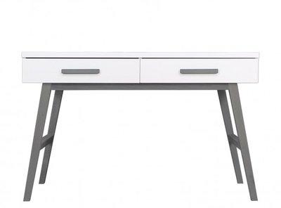 Bopita levi bureau white grey kinderbeddenstore for Bureau 60x120