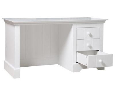 Bopita narbonne bureau met laden wit kinderbeddenstore for Bureau 60x120