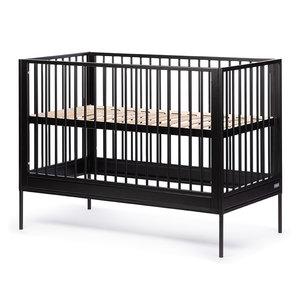 Baby Ledikant Maat.Coming Kids Bliss Babyledikant 60x120 Zwart Kinderbeddenstore