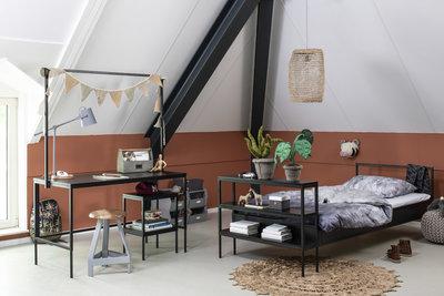 Coming kids Bliss bed 90x200cm Zwart