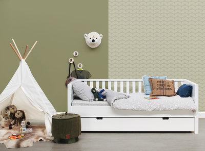 Bopita Nordic bedbank 90x200 wit