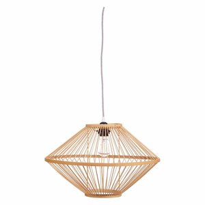 Kidsdepot Ufo bamboo hanglamp naturel