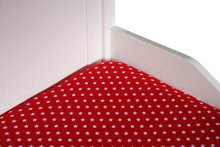 bink 70x150 hoesalekn rood little star
