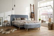 Retro boxspring 140x200 set