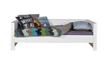 woood robin bedbank wit 90x200 hout