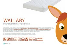 abz wallaby pocketvering matras 90x200
