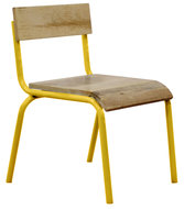 Kidsdepot Pure stoel geel