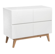 Quax Trendy commode 4 laden wit