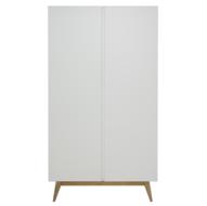 Quax Trendy kledingkast 2 deuren wit